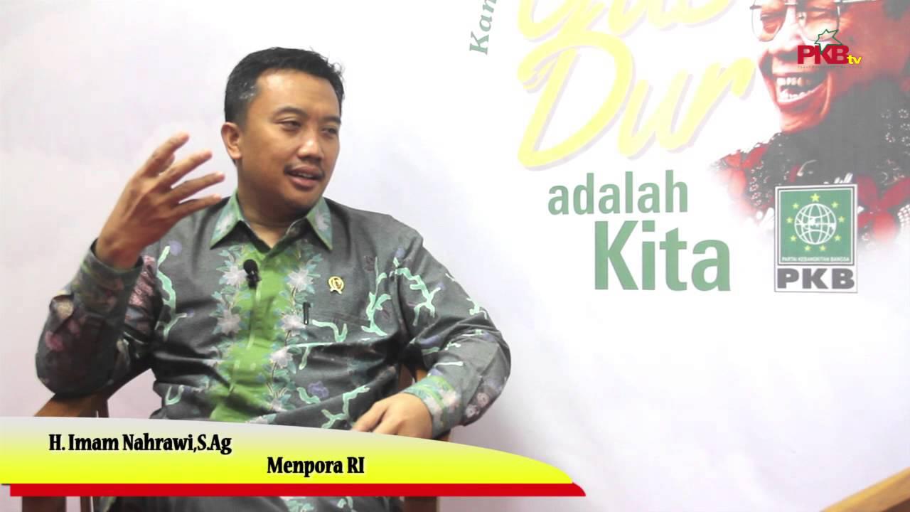 PKBTV Wawancara Ekslusif Dengan Menpora RI H. Imam Nahrawi,S.Ag