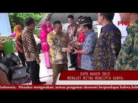 "EXPO NAKER 2015 "" Merajut Mitra Mencipta Karya """