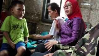 Anggota DPR FPKB Beri Suntikan Semangat Kendar Bocah Perawat Ayahnya yang Lumpuh