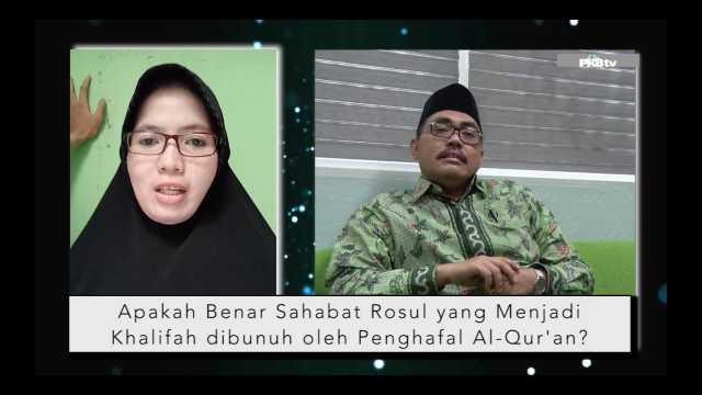 #JJF || Cerita Khalifah yang Terbunuh oleh Penghafal Al-Qur'an
