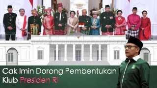 Cak Imin Dorong Pembentukan Klub Presiden RI