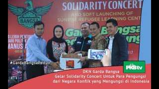 DKN Garda Bangsa Berikan Pendidikan pada Pengungsi