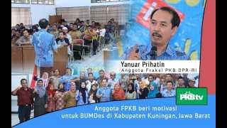 Meningkatan Produktifitas BUMDes, Yanuar Beri Motivasi Pengurus BUMDes Se-Kuningan