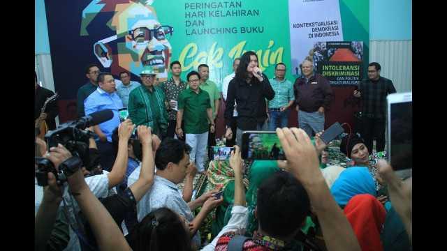 Virzha 'Indonesian Idol' Ikut Ramaikan Harlah Cak Imin