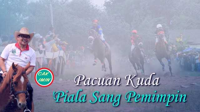 Pacuan Kuda Piala Sang Pemimpin 'Cak Imin'