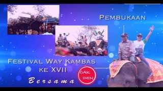 Ke Lampung Timur, Cak Imin Buka Festival Way Kambas