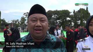 Ketua PKB NTB: Bendera Raksasa NU Adalah Bentuk Pengabdian PKB Kepada NU