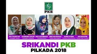Ini Dia Politisi Perempuan PKB yang Nyalon di Pilkada 2018