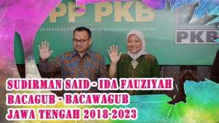 PKB Resmi Pasangkan Sudirman Said – Ida Fauziyah di Pilkada Jateng 2018